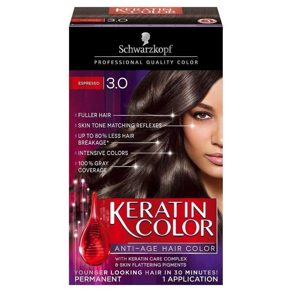 Schwarzkopf Keratin Color Anti - Age Hair Color