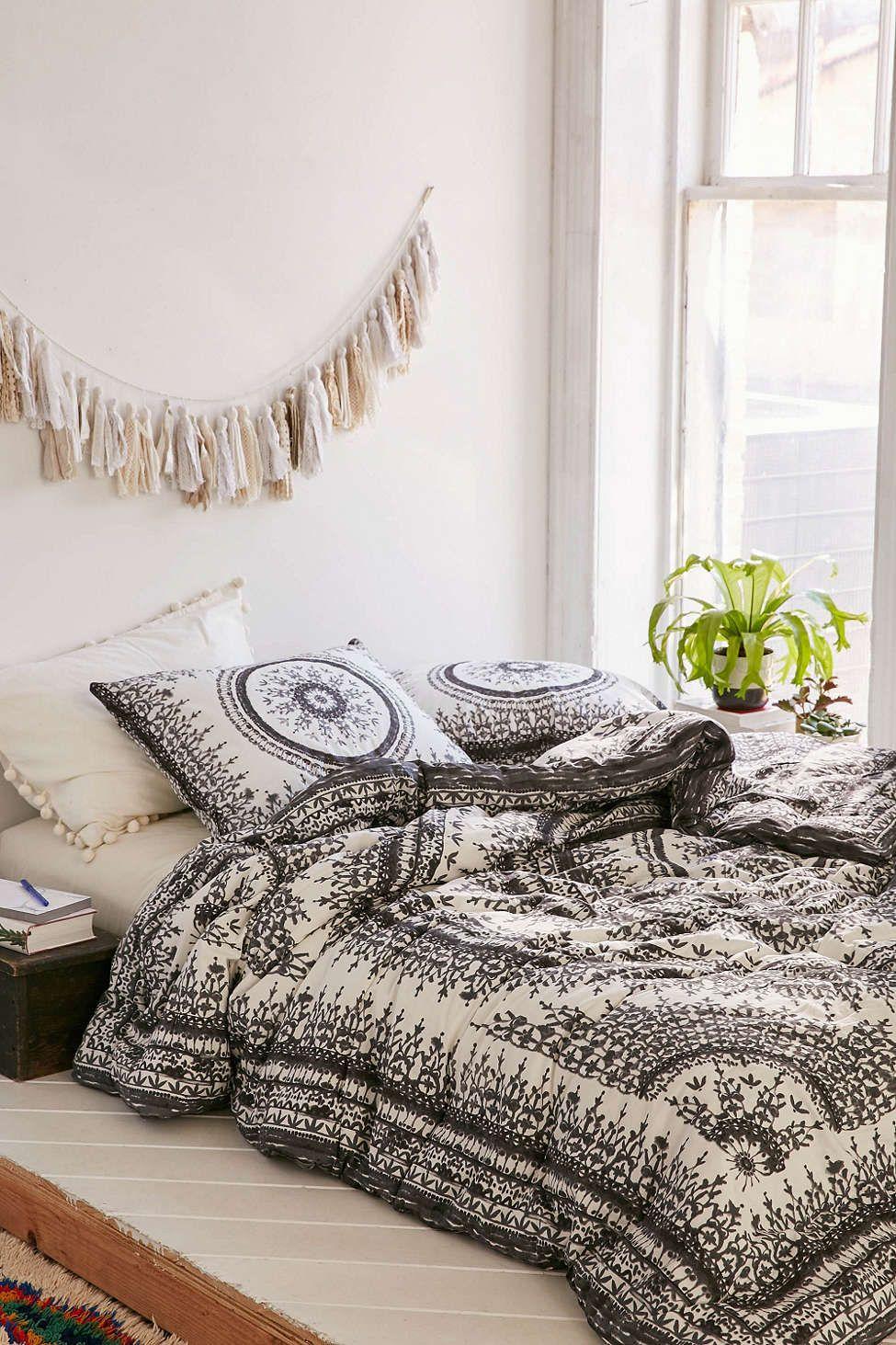 plum & bow effie medallion comforter | comforter, urban outfitters