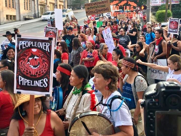 Wnv Puyallup Tribe Enters Battle Against Natural Gas Terminal In Washington Puyallup Tribe Puyallup Tribe