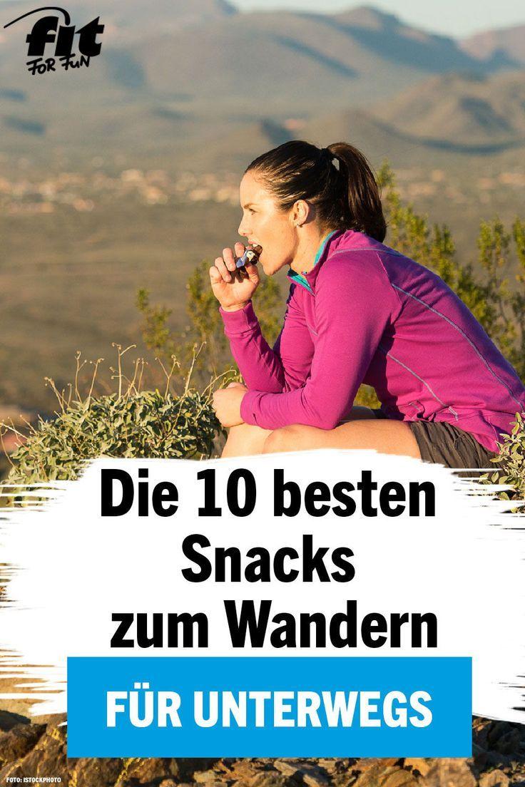 Richtiger Proviant: Die 10 besten Snacks zum Wandern – FIT FOR FUN