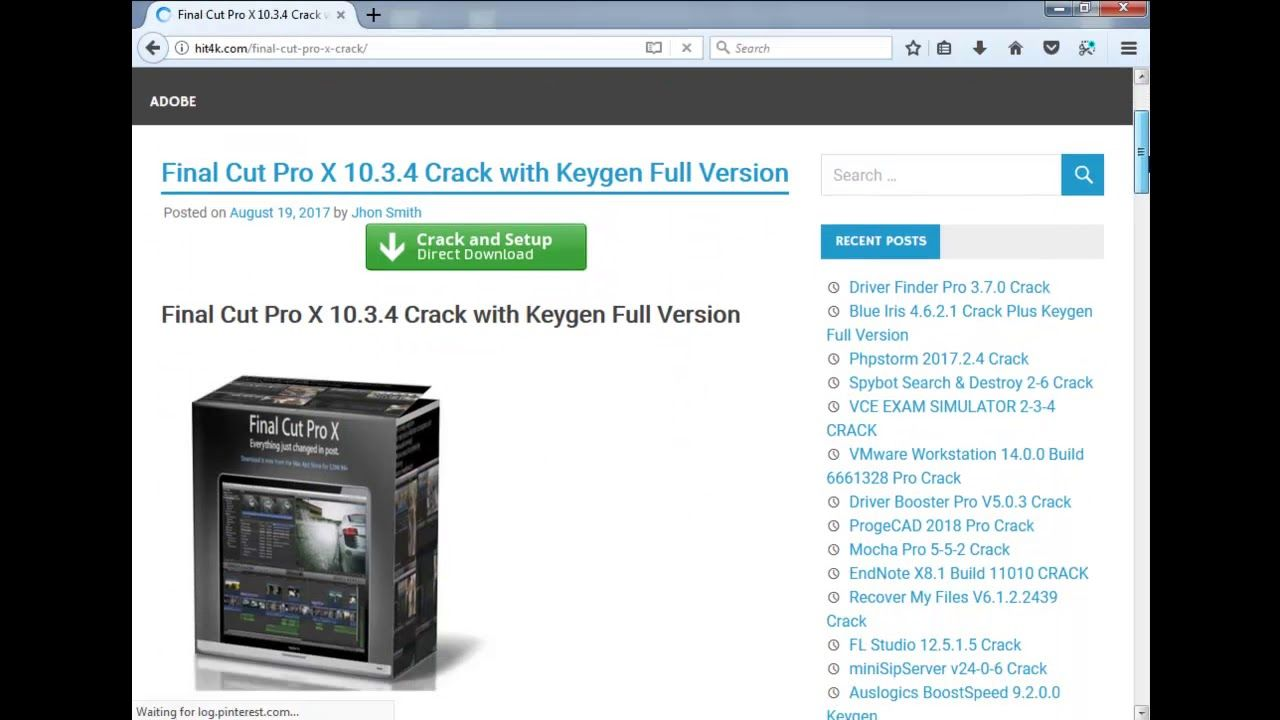 Final Cut Pro X 10 3 4 Crack + Keygen For Mac & Windows [Latest