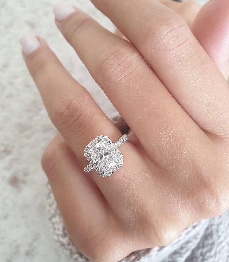 26+ Rectangle diamond wedding rings info