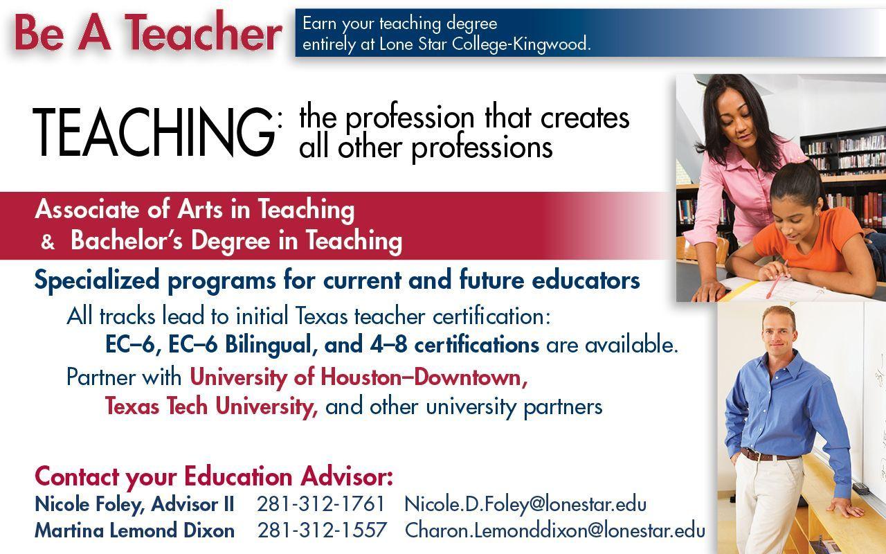 texas teaching teacher certification certificate profession