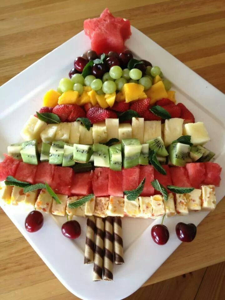 Nibbles Natal Pinterest Christmas desserts, Fruit pizzas and
