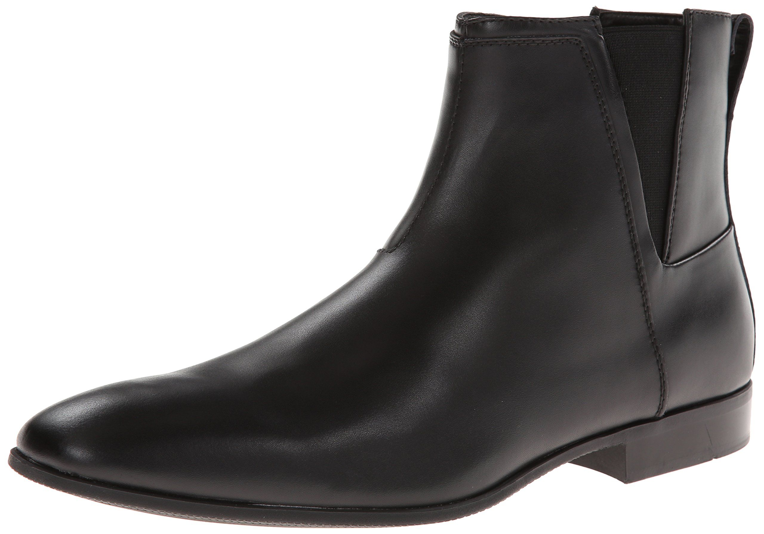 Amazon.com: Calvin Klein Men's Carlisle Leather Smooth Boot: Shoes
