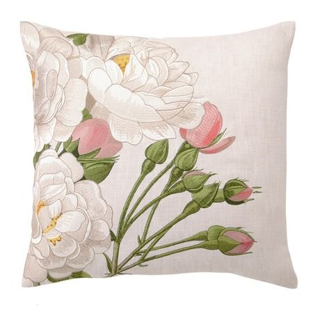 D.L. Rhein French Rose Pillow