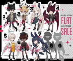 [mixed batch] flat sale [pending] by yukibuns Character
