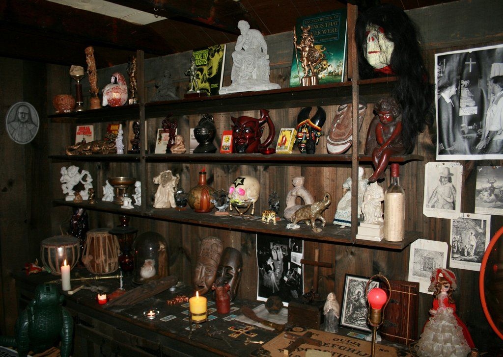 Ed and Lorraine Warren's Museum Of The Occult.   Gone by the years ...
