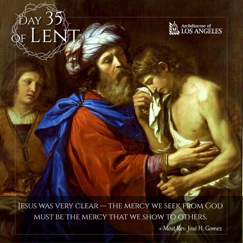 Day 35 of lent sunday sermons lent