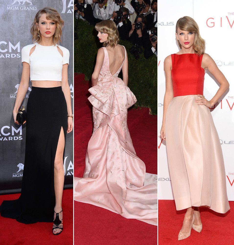 Atractivo Taylor Swift Inspirado Vestidos De Fiesta Ideas Ornamento ...