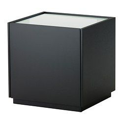 nyvoll nightstand black white ikea i want it pinterest
