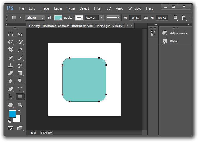 Photoshop Rounded Corners Tutorial 2 Easy Methods Photoshop Round Corner Tutorial