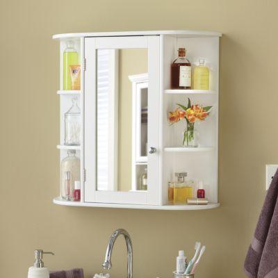 Mirrored Wall Cabinet Wall Cabinet Mirror Wall Bathroom Bathroom Furniture Storage