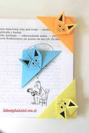 Cat Catorigami Origamiforkids Easyorigami Zabawydladzieci Origami Bookmark