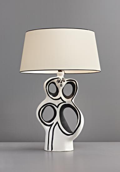 UK050110, GEORGES JOUVE | Lamp, Table lamp, Decorative table