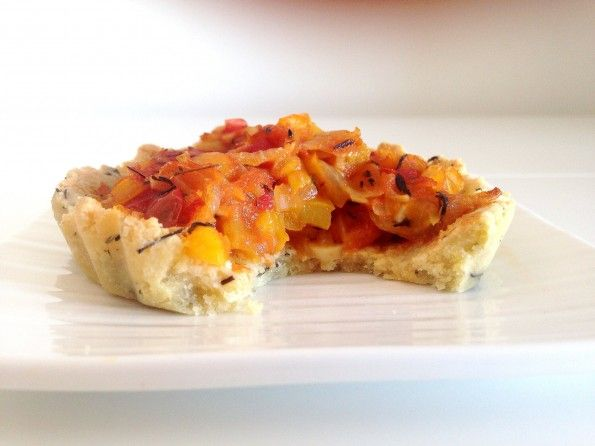 Découvrez ma recette de tartelettes provençales. Paleo, sans gluten et sans lactose. 100% saines et savoureuses!