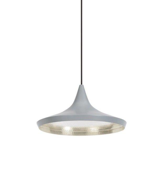 Replica Tom Dixon Beat Light Tall Wide Pendant Lamp Grey Pendant Light Light Lighting Design Interior
