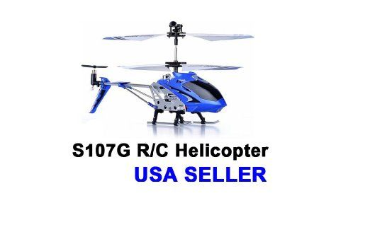 Amazon.com: Syma S107/S107G R/C Helicopter - Blue: Toys & Games  For Brandon