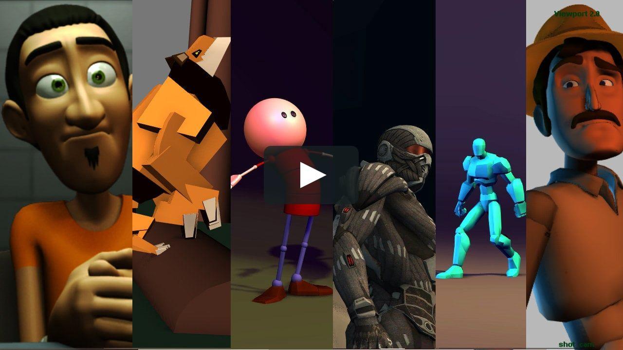 Animation reel 2013 animation animated characters
