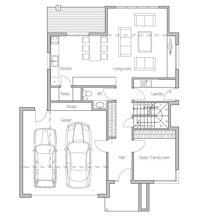 small-house_111ch_1f_120815_house_plan | home love | pinterest