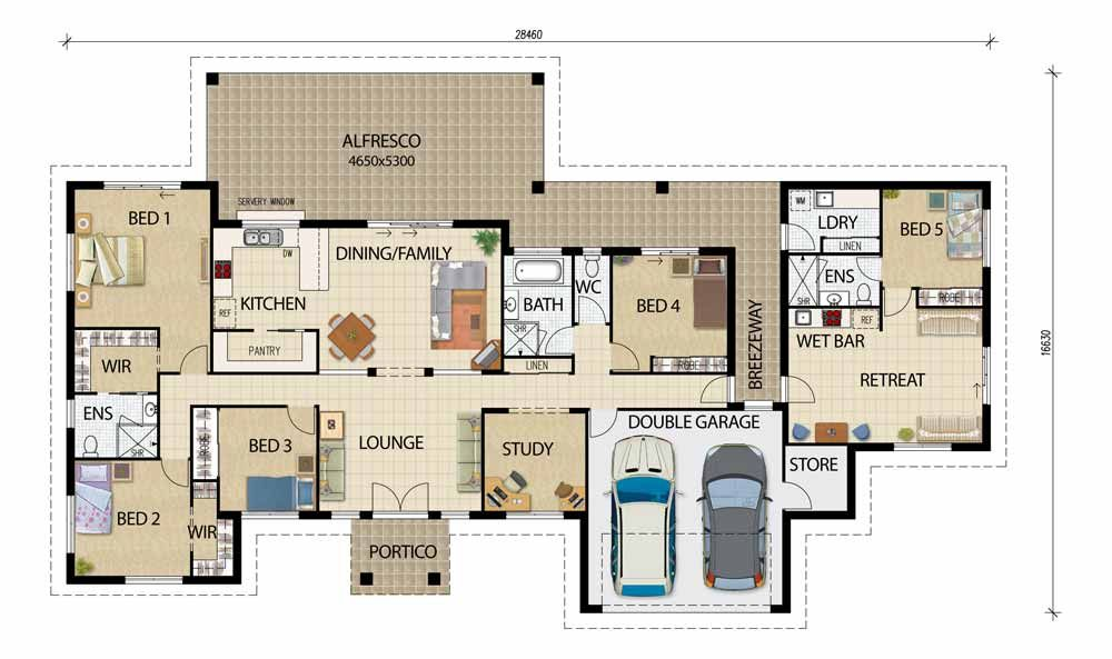 Plans For Houses cob house floor plans Acreage Designs House Plans Queensland