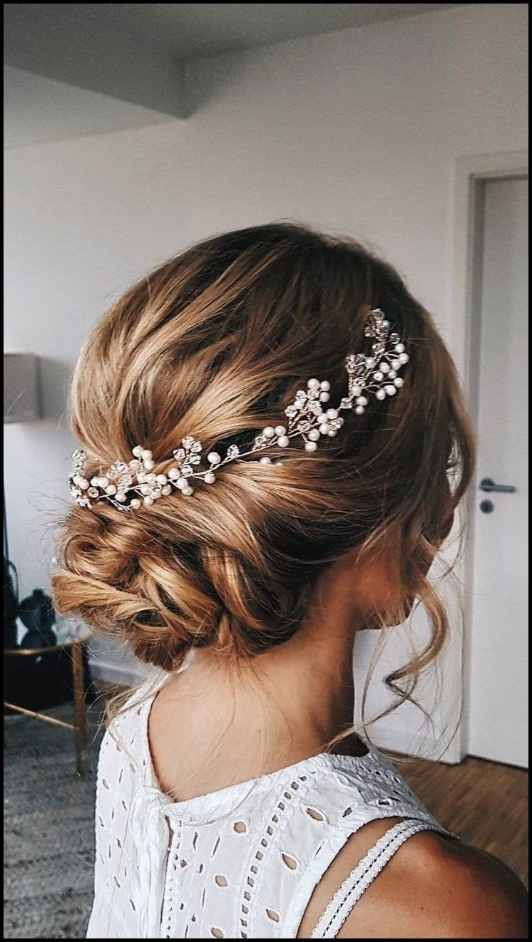 9 best Braut Frisuren images on Pinterest  Wedding hair
