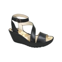 Fly London  Yesk Sandalo Nero   London Sale scarpe   Pinterest c1ebdd