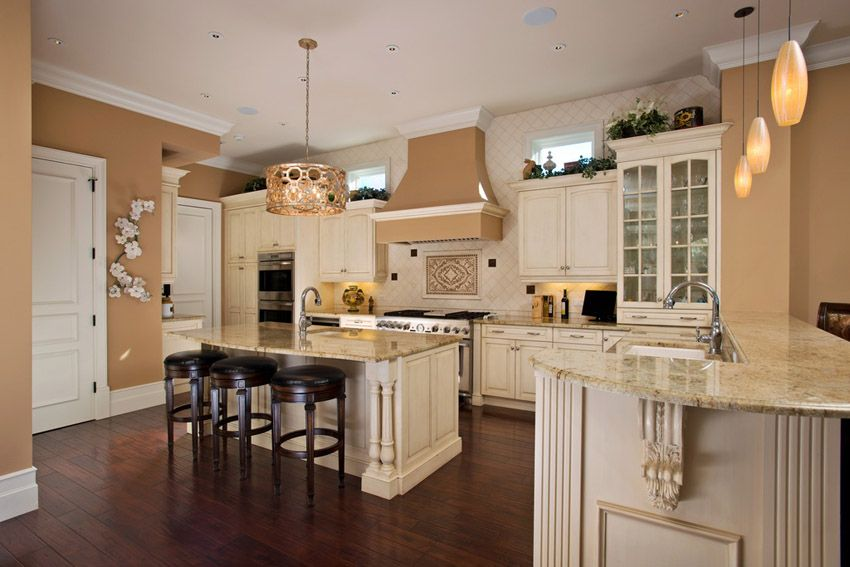 63 Beautiful Traditional Kitchen Designs White Cabinets