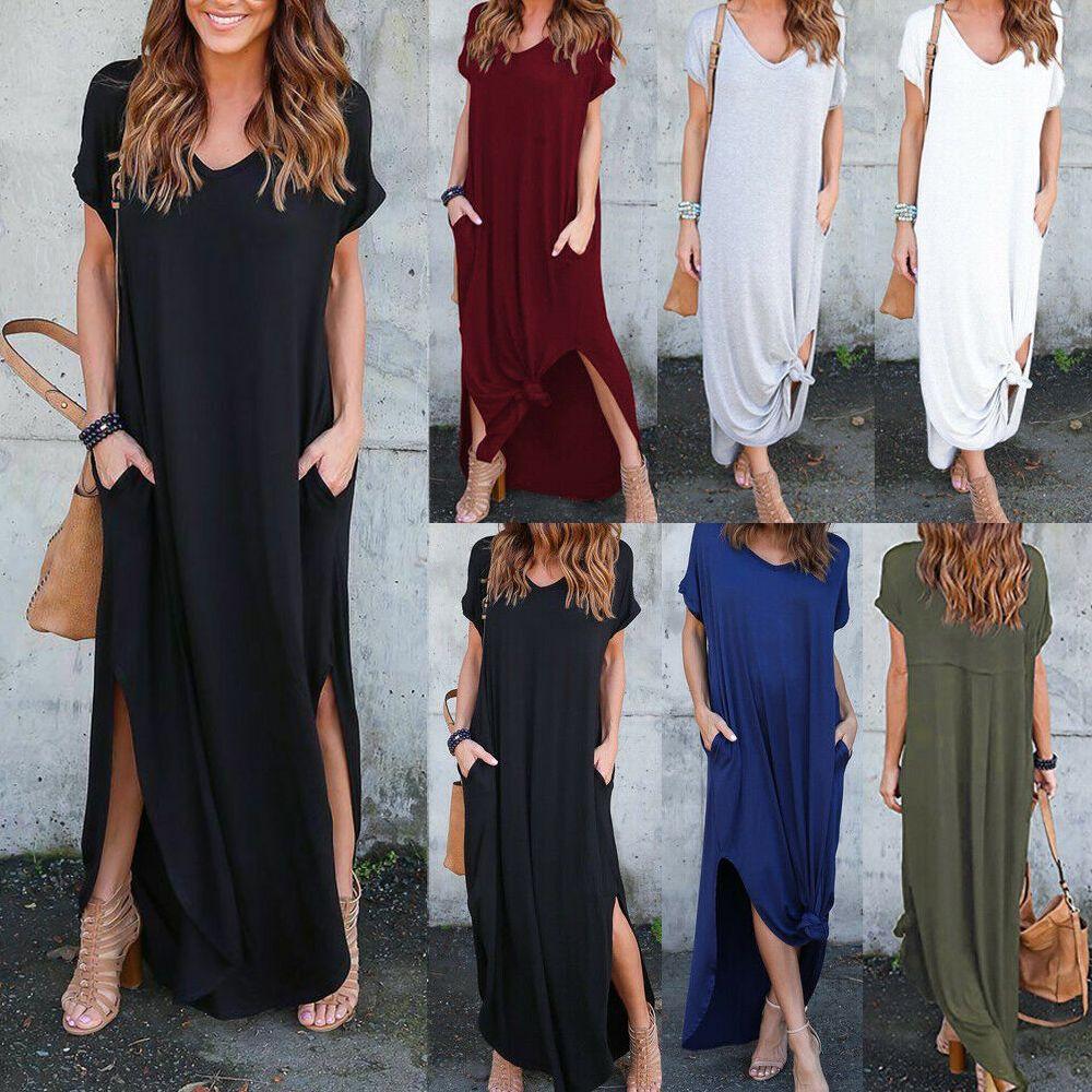 Picked Up From Walmart Free 2 Day Shipping Buy Women Summer Boho Long Maxi Dress Evening Cocktai Summer Dresses For Women Long Maxi Dress Maxi Dress Evening [ 1000 x 1000 Pixel ]