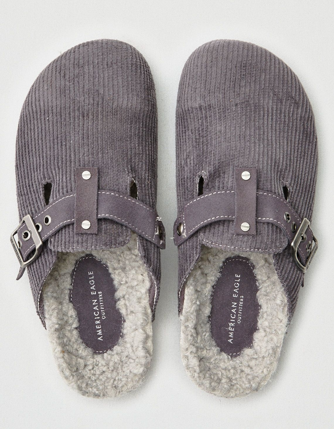fa304ba3e1a6 Cozy Knock Off Birkenstocks - American Eagle