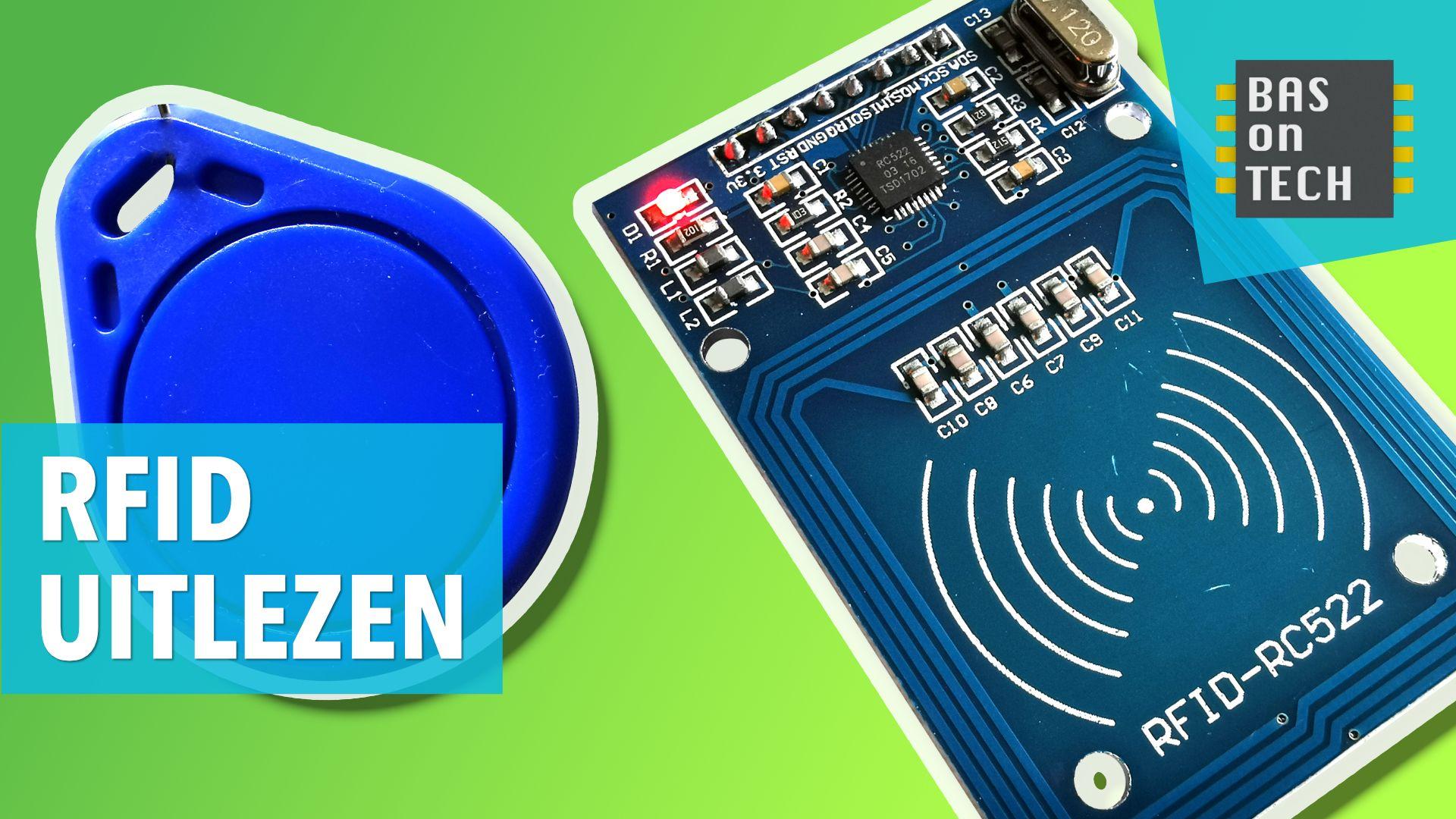 Arduino Les 19 Rfid Kaart Uitlezen In