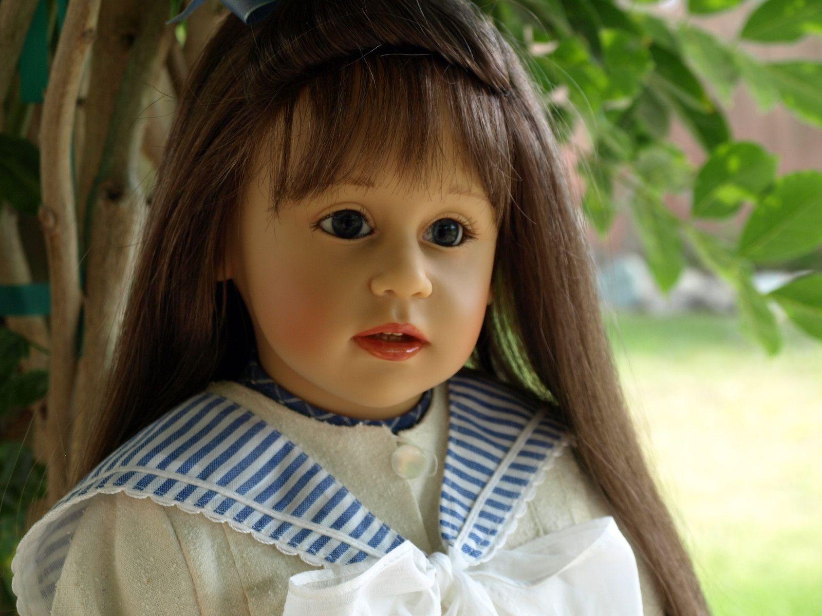"Sissel Skille ""Anna"" Gotz Doll Germany 27"""