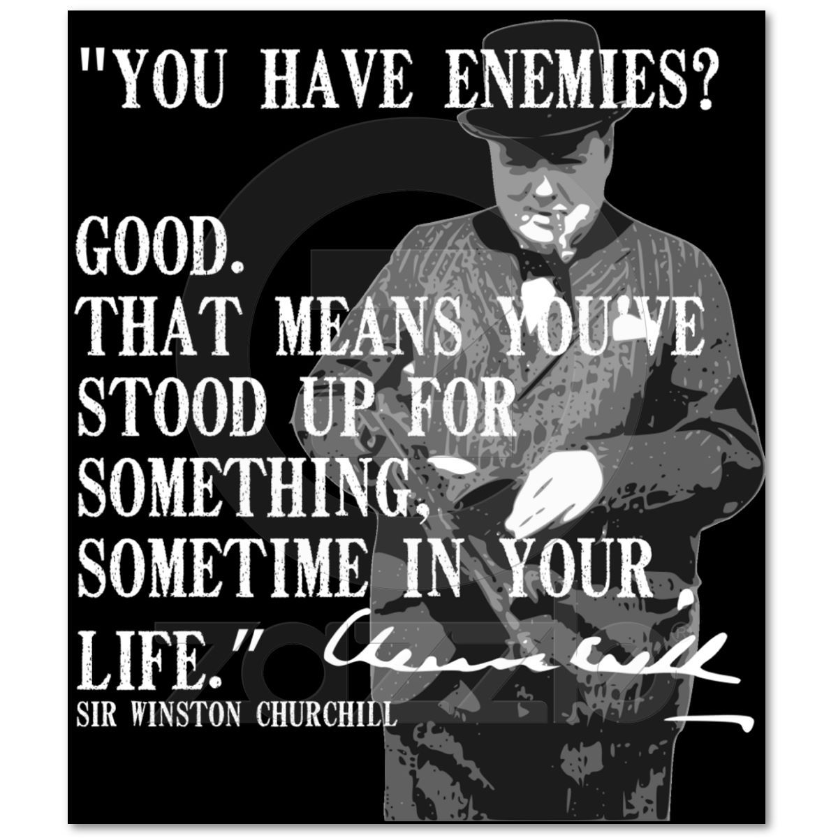 another great one from Winston Churchill - reminds me of law school (or all higher education as a republican!!)