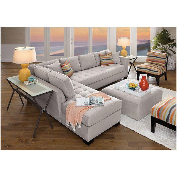 Cindy Crawford Home Calvin Heights XL Platinum 2 Pc