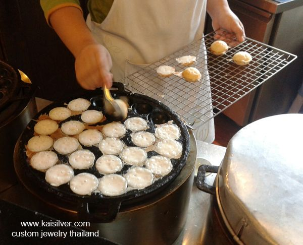 Khanom khrop how to cook grinds pinterest puddings street khanom krok how to make the thai khanom khrok rice pudding full recipe forumfinder Choice Image