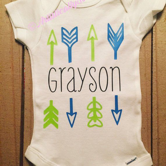 Baby arrow onesie personalized onesie arrow name onesie boy baby arrow onesie personalized onesie arrow name onesie boy onesie girl negle