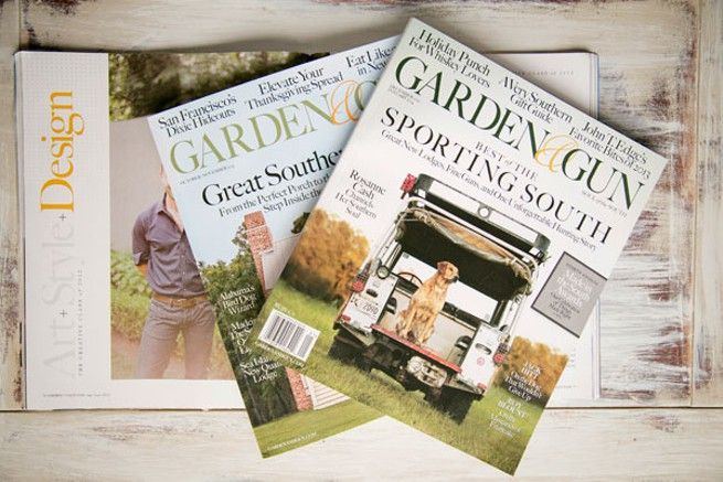 A jubilant Garden & Gun celebrates a budding success story in print media // Charleston City Paper