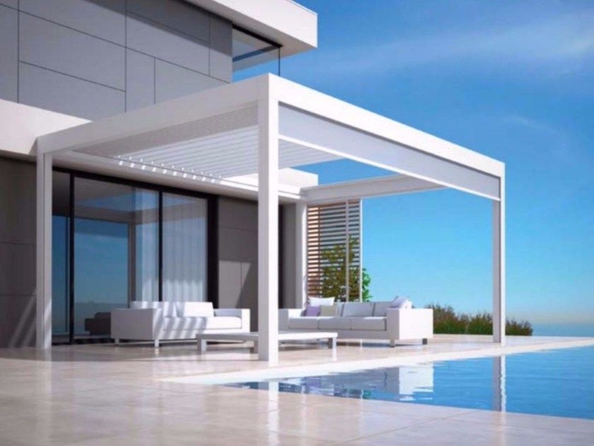 Download the catalogue and request prices of Skye® By renson, aluminium pergola | Pergola ...