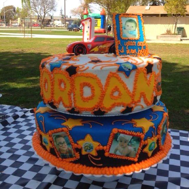 My grandsons birthday cake!