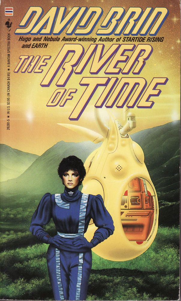 The River of Time by David Brin (1987, Paperback)
