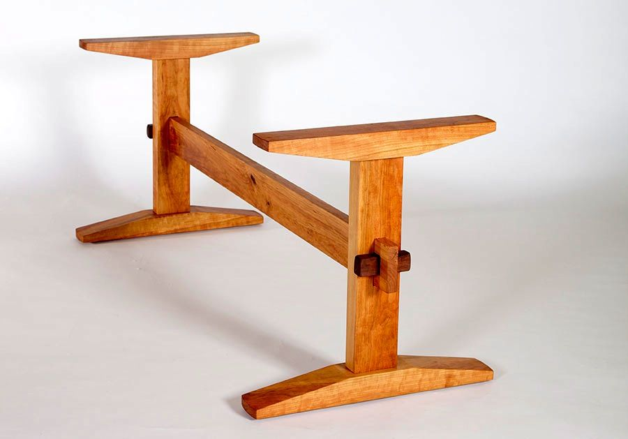 First Project Small Dining Table Trestle Dining Tables Solid