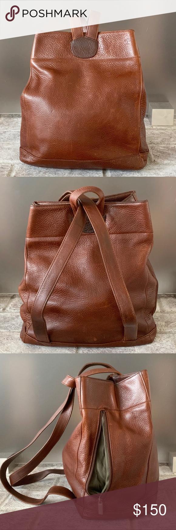 Ellington Leather Backpack Handbag