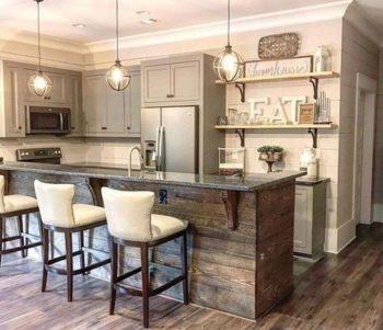 43 Rustic Small Kitchen Remodel Ideas Kitchen Renovation Topvisit Net