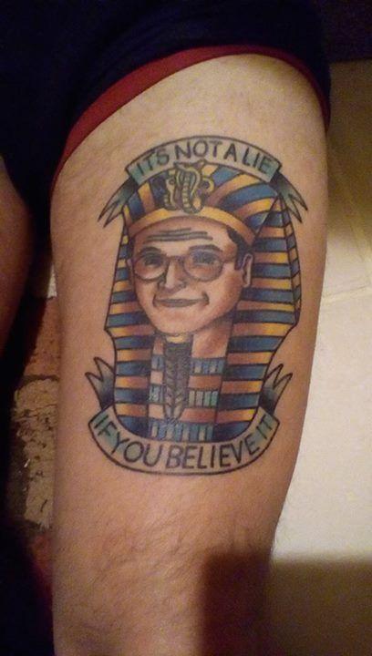 George Costanza Tattoo Via Noiseasc On R Seinfeld Seinfeld
