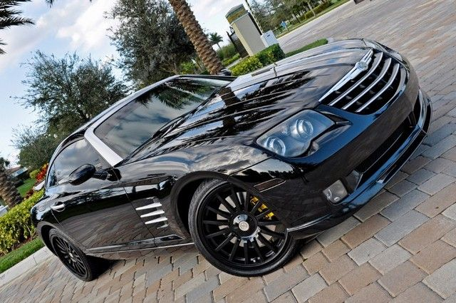 Chrysler Crossfire SRT6 One of these WILL be in my possession in