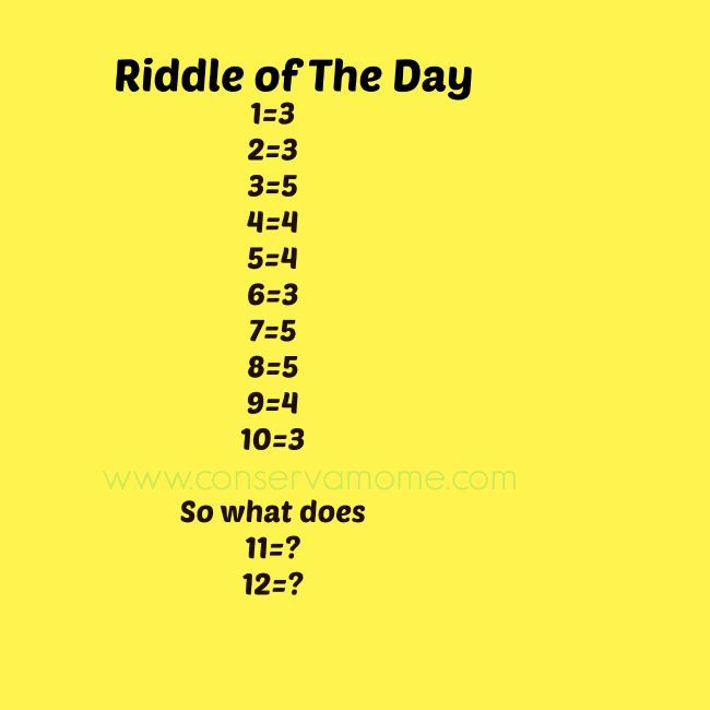 Pin By Conservamome On Riddles And Puzzles Brain Teasers