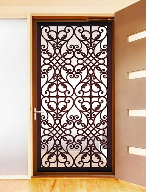 Puertas de entrada exteriores puertas dise os de for Puertas decorativas para interiores