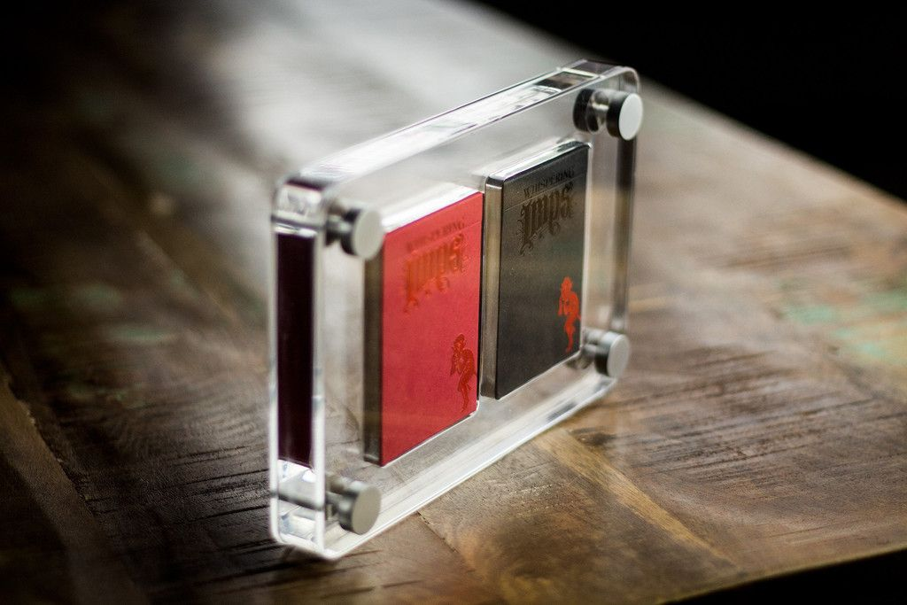 2 Deck Kings Wild Exclusive Lucite Card Case - stunning! | Playing ...
