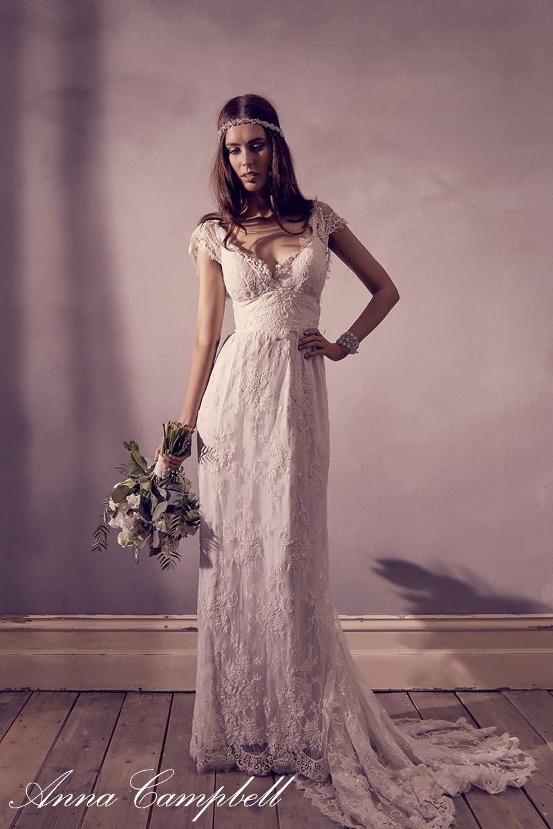 Eloise\' wedding dress by Anna Campbell. Can possibly be purchased at ...