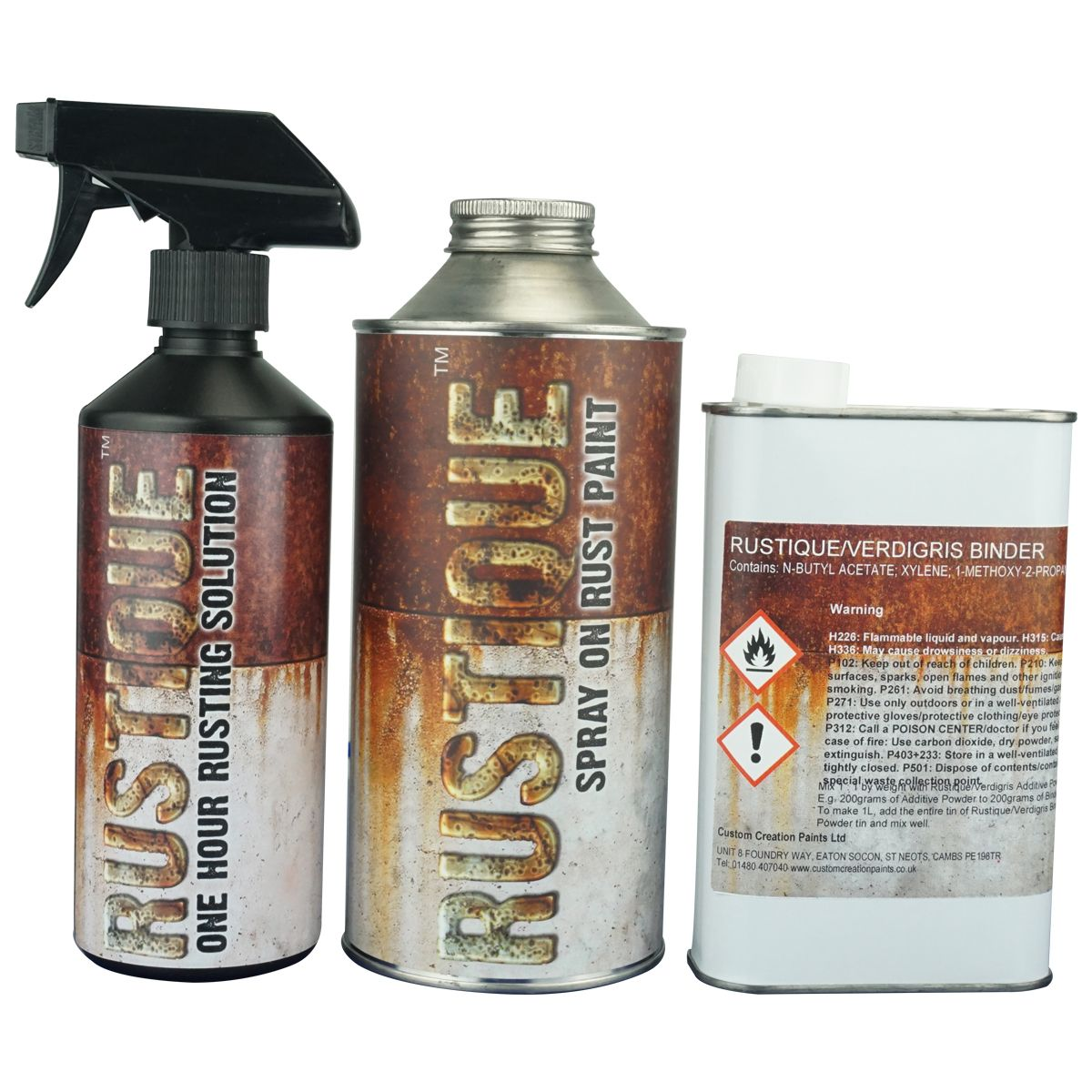 Rustique™ - Automotive Spray on Rust Paint Kit covers upto - 4 sqmt ...